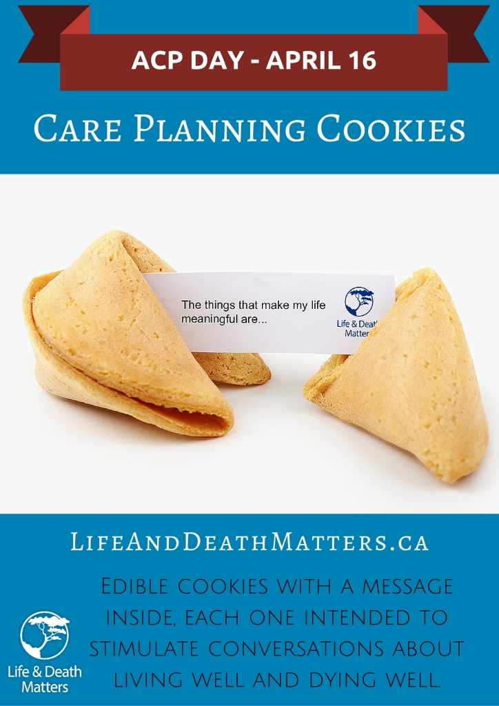 Care Planning Cookies - ACP DAY 2016